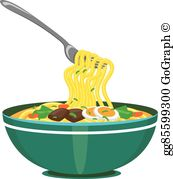 Noodle clipart graphic free Noodles Clip Art - Royalty Free - GoGraph graphic free