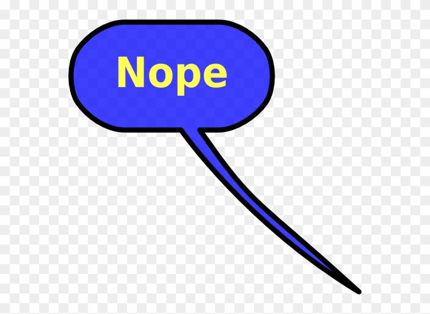 Nope clipart jpg freeuse library Nope Clipart - Png Download - Clipart Png Download (#1836729 ... jpg freeuse library