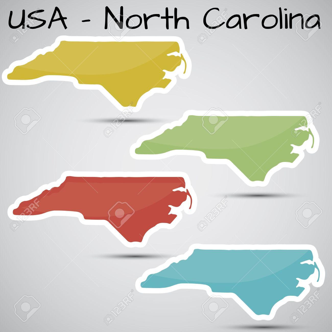 North carolina map clipart cartoon jpg royalty free 1,732 North Carolina Stock Illustrations, Cliparts And Royalty ... jpg royalty free