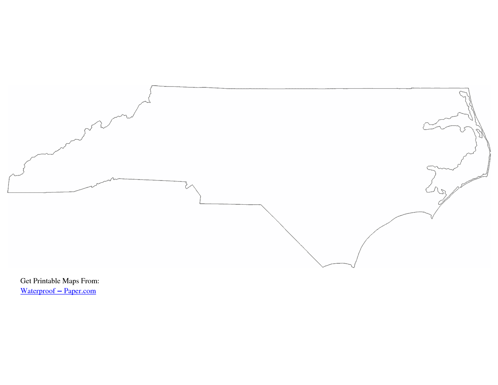 North carolina state geography map black and white clipart clipart free download North Carolina Map Outline | Drawing | North carolina outline, North ... clipart free download