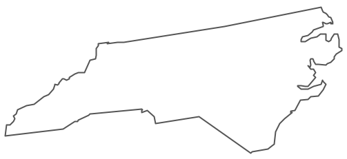 North carolina state geography map black and white clipart picture transparent library CC Cycle 3 Week 3 Upside Down Line Drawing-Geography North Carolina ... picture transparent library