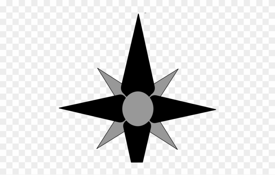 North clipart graphic library download East Clipart Compass Symbol - North Arrow - Png Download (#4063204 ... graphic library download