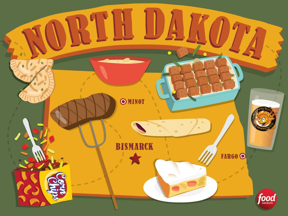 North dakota alcohol consumption- clipart png black and white library The Best Food in North Dakota   Best Food in America by State : Food ... png black and white library