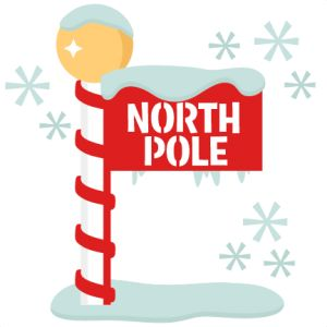 The north pole clipart clip black and white stock North pole clipart 5 » Clipart Station clip black and white stock