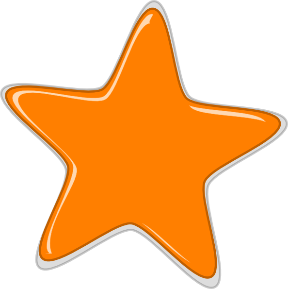 Northern star clipart royalty free stock Orange Stars Clipart | Clipart Panda - Free Clipart Images royalty free stock