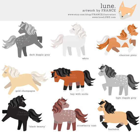 Norwegian horse toy clipart image freeuse download 3 FOR 2. Horse Clipart. Cute Little Pony Clipart. Chestnut ... image freeuse download