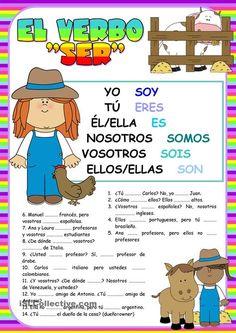 Nosotros spanish somos clipart jpg library stock 52 Best Ser/ Estar/ Tener images in 2018 | Teaching spanish, Spanish ... jpg library stock