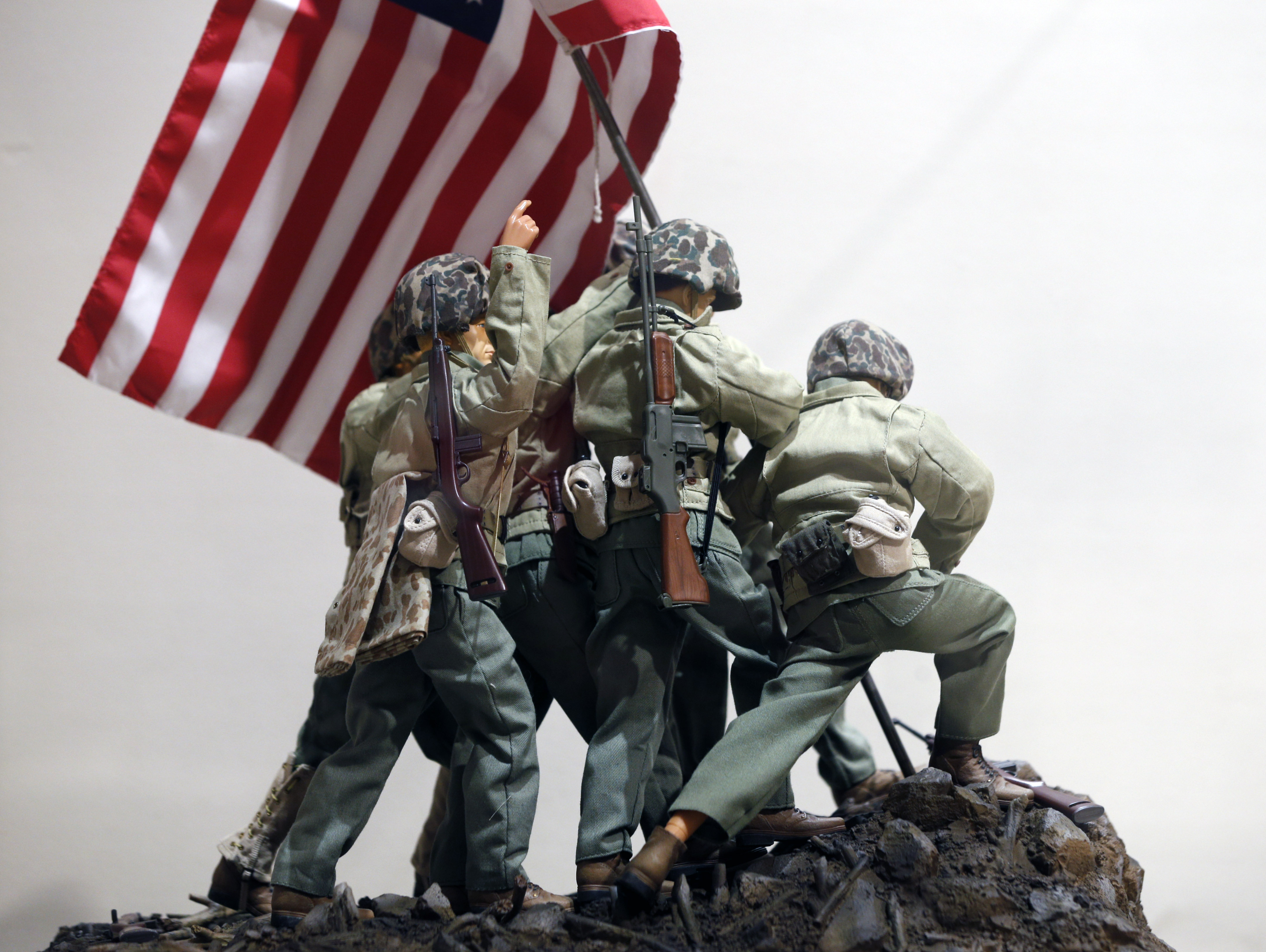 Not all veterans are gi joes clipart