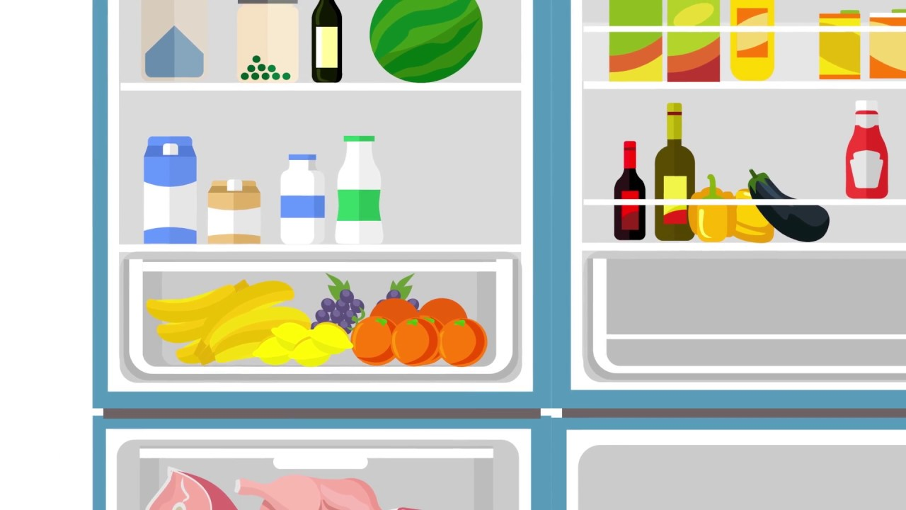 Not healthy fridge food clipart picture transparent download How to use your refrigerator picture transparent download