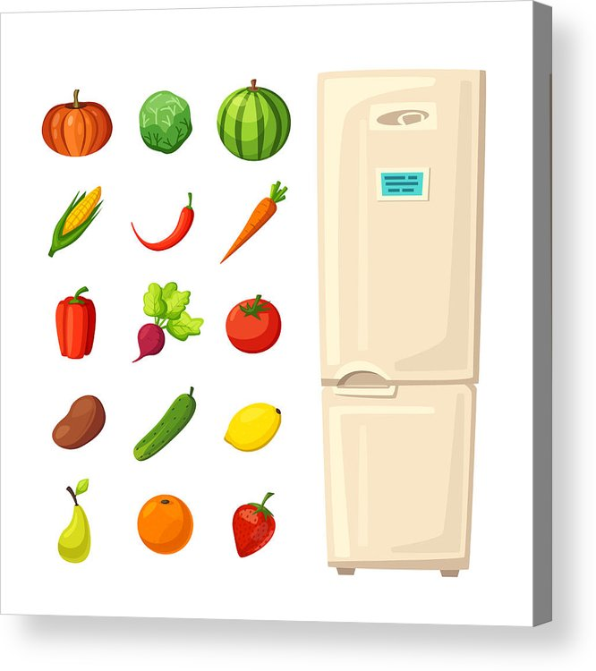 Not healthy fridge food clipart picture transparent library Healthy Food Drawing | Free download best Healthy Food ... picture transparent library