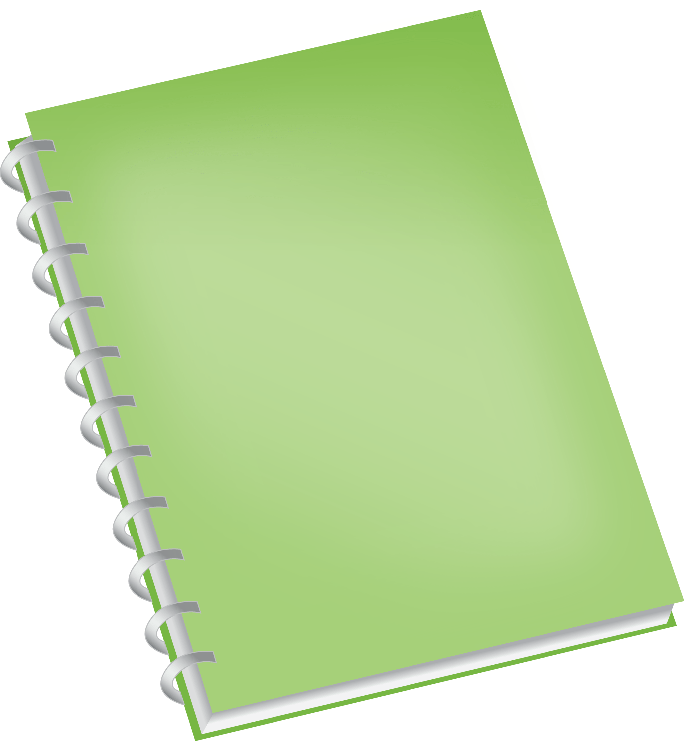 Note book clipart clip library library Landscape Notebook Page transparent PNG - StickPNG clip library library