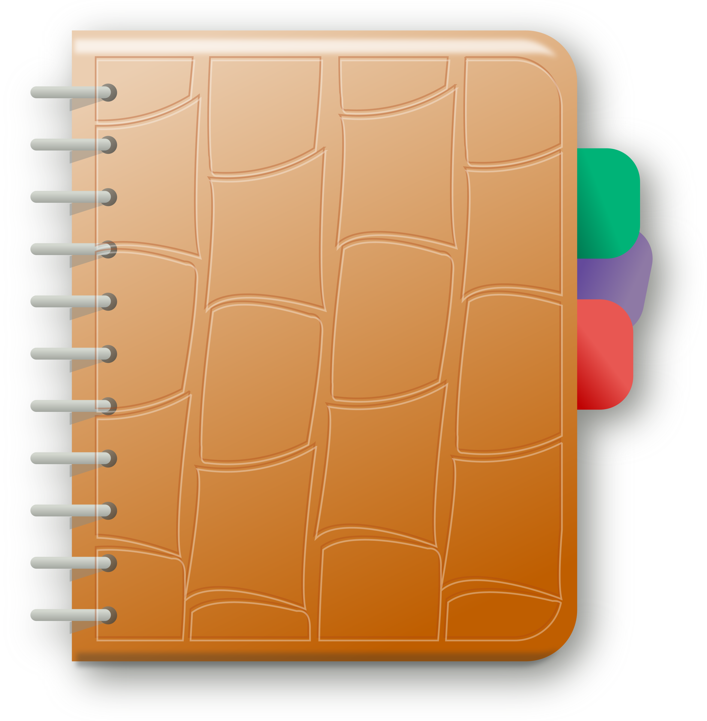 Clipart - notebook png free download