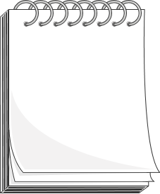 Notepad cliparts graphic freeuse File:Notepad clipart.png - Wikimedia Commons graphic freeuse