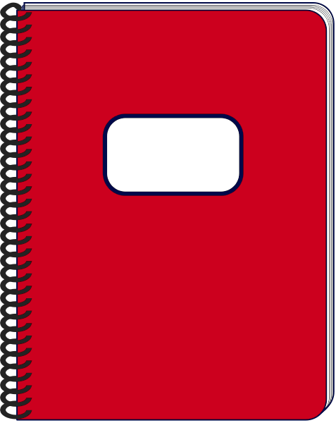 Notebook clipart free vector library library Notepad notebook clipart free images 2 - ClipartAndScrap vector library library