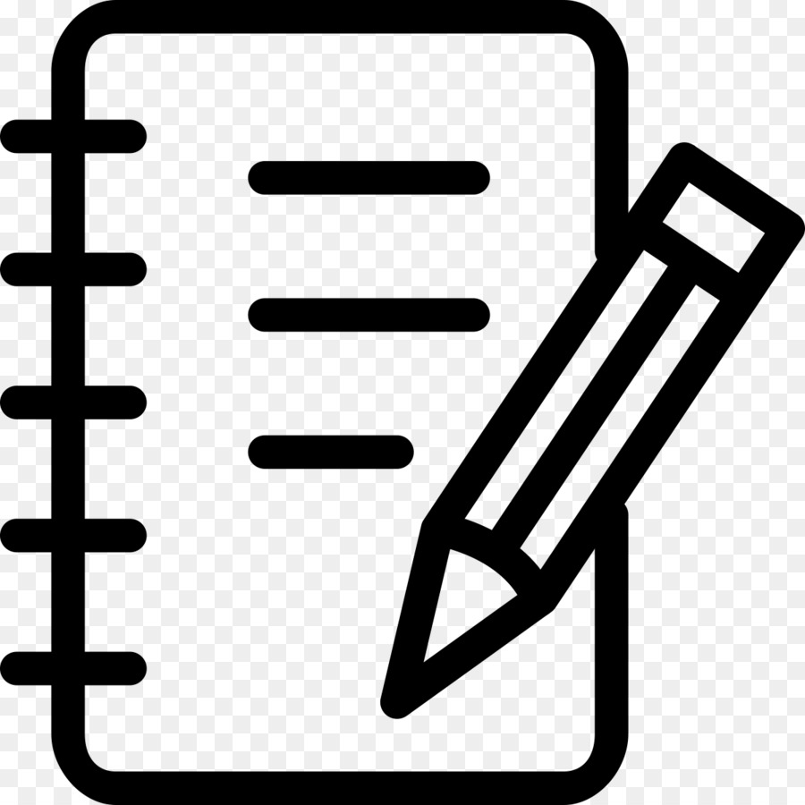 Notebook clipart icon svg stock Pen And Notebook Clipart png download - 1200*1200 - Free ... svg stock