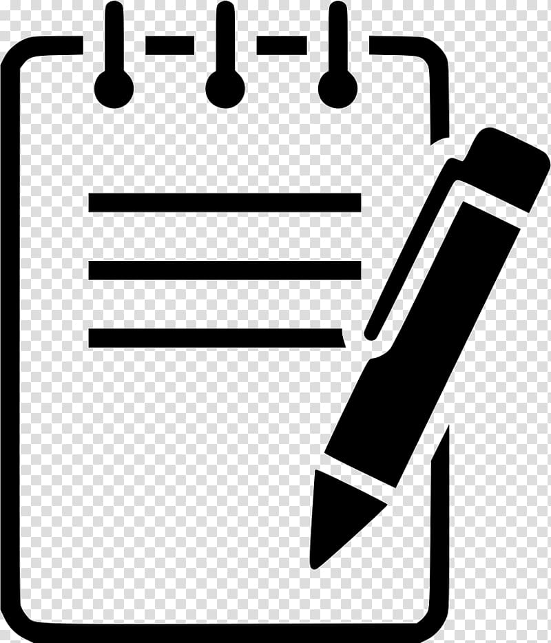 Notebook clipart icon png download Pencil and board illustration, Paper Computer Icons Notebook ... png download