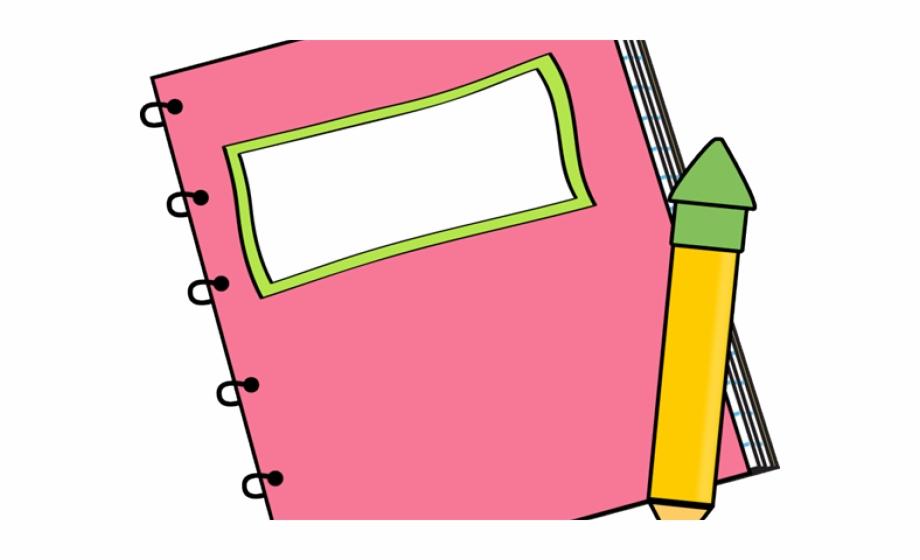 Noteboook clipart svg freeuse Notebook Clipart - Clipart Book And Pencil Png Free PNG ... svg freeuse
