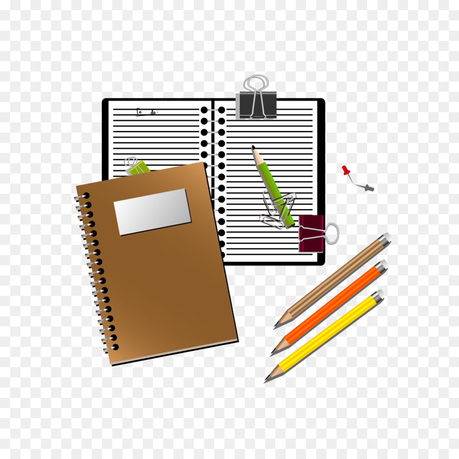 Notepad and pen clipart picture stock Pen And Notebook Clipart png download - 1181*1181 - Free Transparent ... picture stock