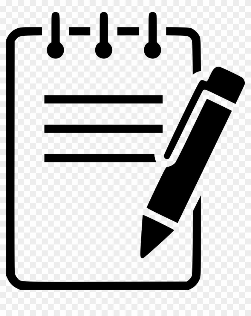Notepad logo clipart vector transparent stock Notepad clipart png 4 » Clipart Portal vector transparent stock