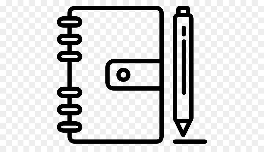 Notepad logo clipart free download Pen And Notebook Clipart png download - 512*512 - Free Transparent ... free download