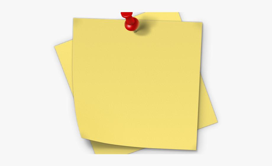 Notes paper clipart clip art transparent Post It Clipart Piece Paper - Sticky Notes Png Hd #952921 - Free ... clip art transparent
