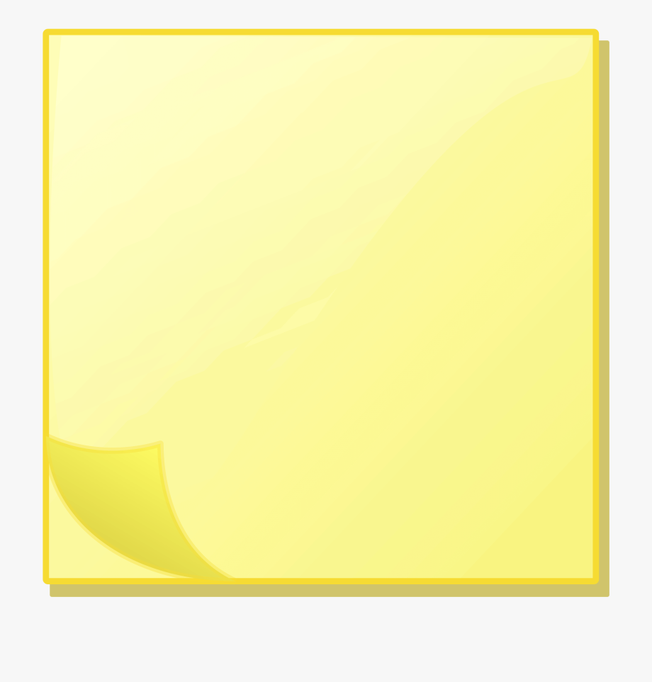 Post-it Note Paper Sticky Notes Notebook Computer Icons - Sticky ... clip art black and white library