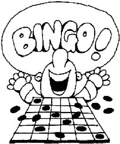 Nothing like yelling bingo black and white clipart png library stock Bingo Clipart | Free download best Bingo Clipart on ClipArtMag.com png library stock