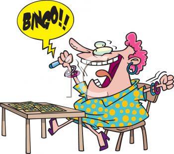 Nothing like yelling bingo black and white clipart clip royalty free stock Bingo!! | My favorite time-wasters | People bingo, Bingo clipart ... clip royalty free stock