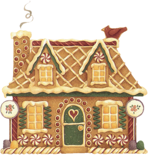 Nothing says christmas like gingerbread clipart png library library CHRISTMAS GINGERBREAD HOUSE CLIP ART | houses....buildings ... png library library