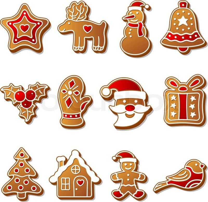 Nothing says christmas like gingerbread clipart
