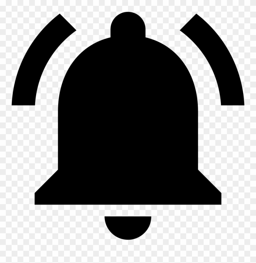 Notification bell clipart jpg free library Download Notification Bell Black Png Images Background ... jpg free library