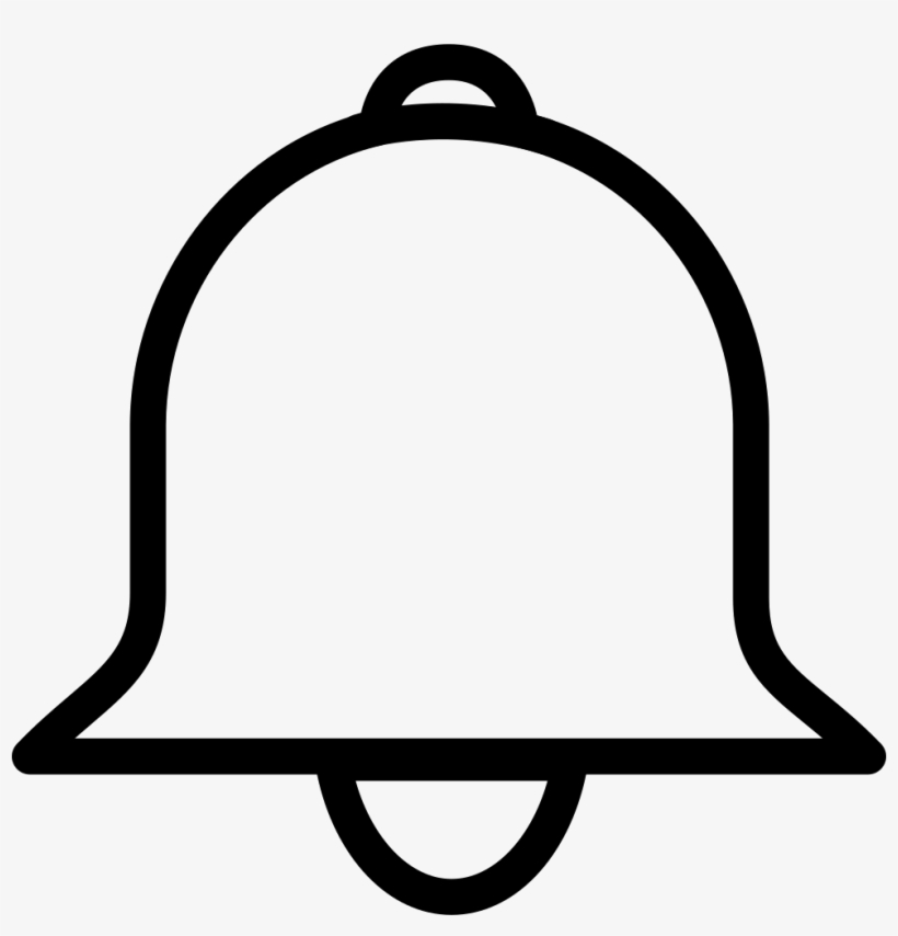 Notification bell icon clipart clipart black and white library Bell Comments - Post Notifications Bell Icon PNG Image | Transparent ... clipart black and white library