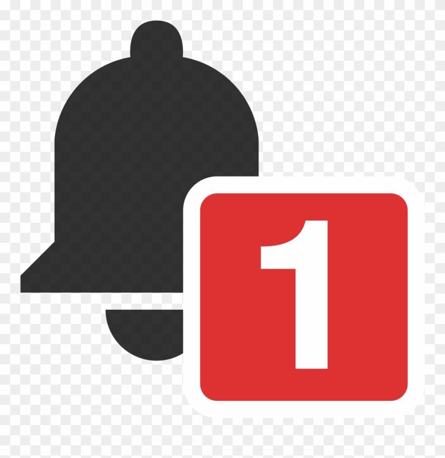 Notifications clipart svg Open - Transparent Post Notification Youtube Clipart (#2197709 ... svg