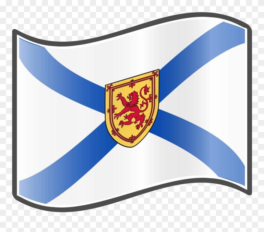 Nova scotia clipart svg Flag Clipart Nova Scotia - Nova Scotia Flag Png Transparent ... svg