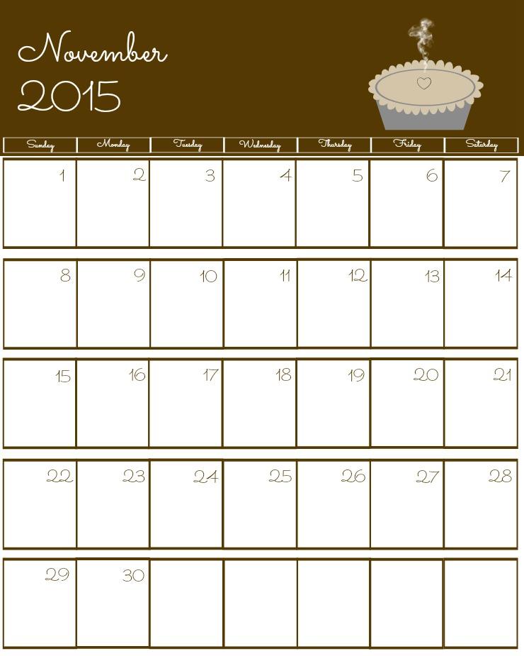 November 2015 calendar clipart image library stock Nov 2015 Calendar Good Online Calendar Printable #7SA5ef - Clipart Kid image library stock