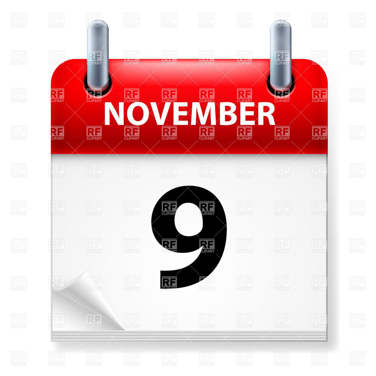 November 9th calendar clipart svg free November 9th calendar clipart - ClipartFest svg free
