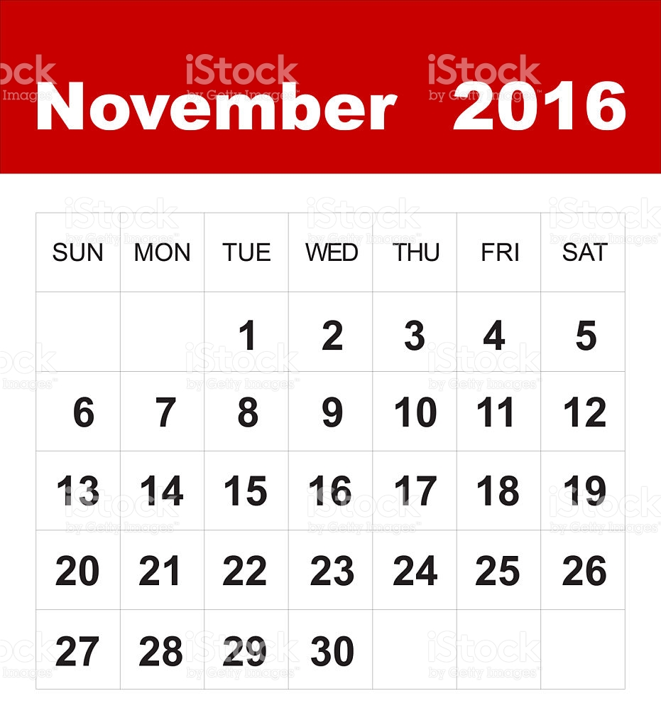 November 9th calendar clipart picture November calendar clip art - ClipartFest picture