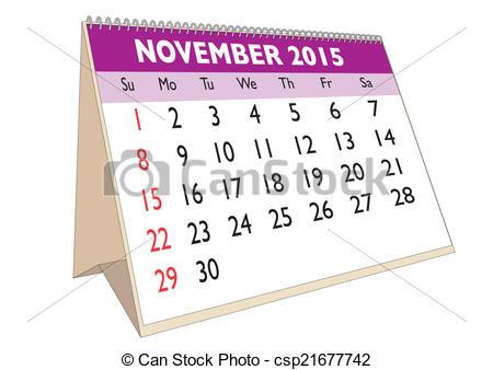 November 9th calendar clipart banner transparent November 2015 calendar clipart - ClipartFest banner transparent