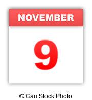 November 9th calendar clipart png free library November 9 Illustrations and Clip Art. 117 November 9 royalty free ... png free library