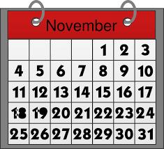 November calendar 2016 clipart clip art royalty free stock November CALENDAR CLIPART - All New Events clip art royalty free stock