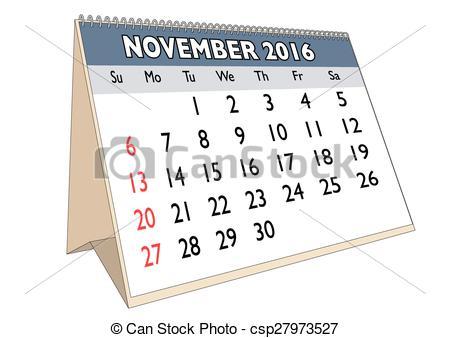 November calendar 2016 clipart clip freeuse stock November 2016 Illustrations and Clip Art. 2,647 November 2016 ... clip freeuse stock
