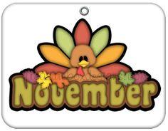 November calendar clip art graphic freeuse library Free Month Clip Art   Month of November Pilgrims Clip Art Image ... graphic freeuse library