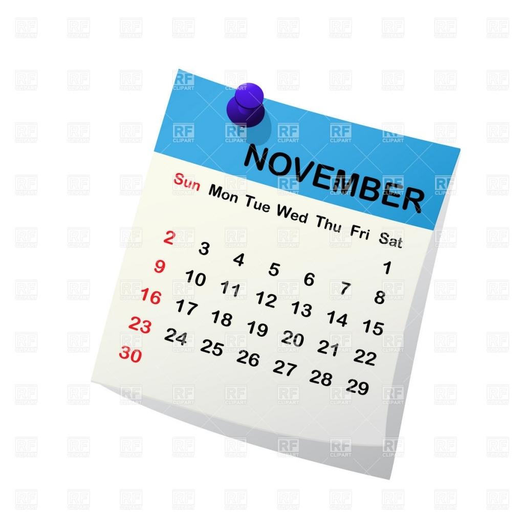November calendar clipart clipart freeuse library november calendar 2014 clipart   New Calendar 2017 clipart freeuse library