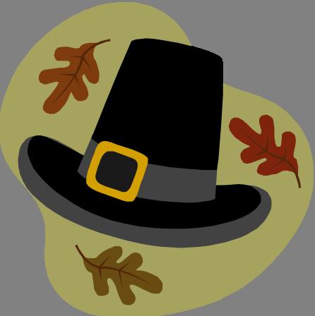 November calendar clipart pilgrims vector transparent download Pilgrims hat clipart - ClipartFest vector transparent download