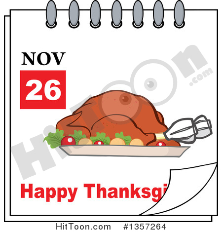 November calendar clipart turkey picture library download Free calendar clipart thanksgiving - ClipartFest picture library download
