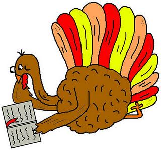 November calendar clipart turkey png freeuse Turkey reading clipart - ClipartFest png freeuse