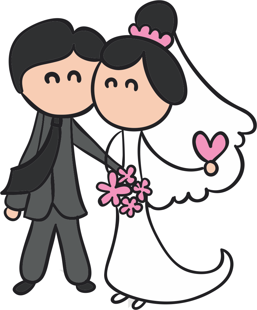 Novios caricatura clipart jpg free Dibujos. Clipart. Digi stamps - Wedding - Novios - Boda ... jpg free