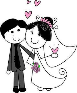 Novios caricatura clipart jpg library download Dibujos de novios para imprimir:Imagenes y dibujos para ... jpg library download