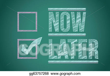 Now and later clipart clipart transparent stock Vector Illustration - Now and later check boxes on school ... clipart transparent stock