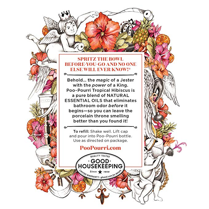 Now behold the king clipart banner library library Poo-Pourri Before-You-Go Toilet Spray Refill Bottle, Tropical Hibiscus  Scent (Sprayer Not Included), 16 Fl. Oz banner library library